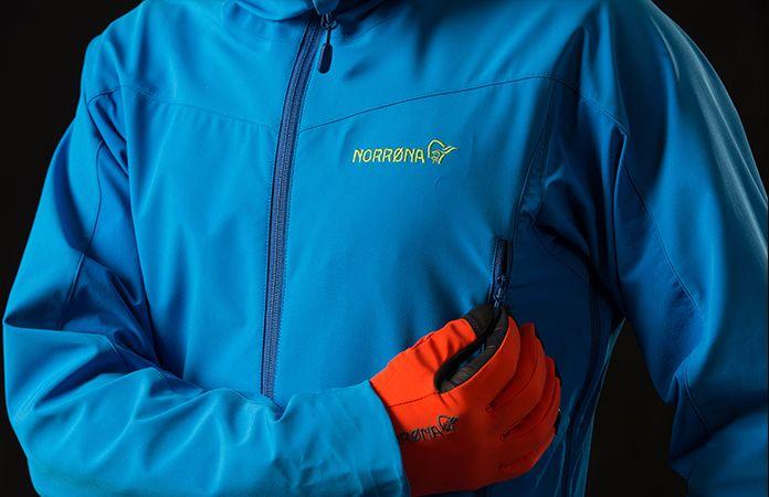 Norrøna falketind jakke for herre - Windstopper hybrid