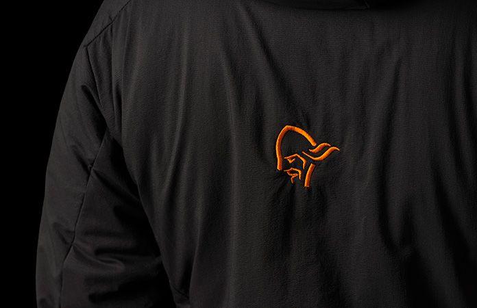 Black Norrøna lofoten Alpha jacket - women
