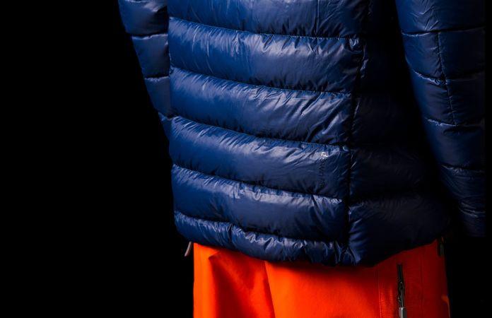 Norrona lyngen lightweight down750 ski touring jacket for men