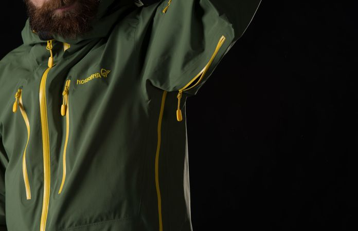 Norrøna lofoten GTX Pro ventilation zipper jacket