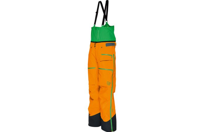 Norrona waterproof pants for skiing men's