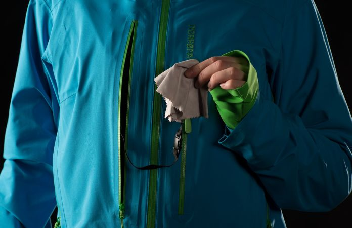 Norrona driflex3 jacket for ski touring