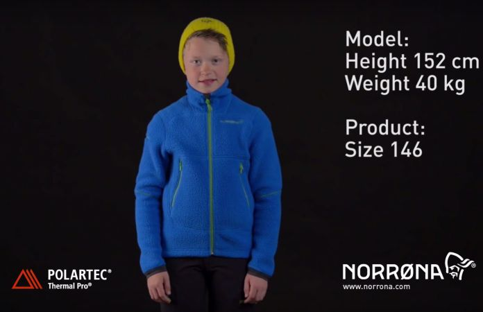norrona trollveggen warm2 jacket junior video