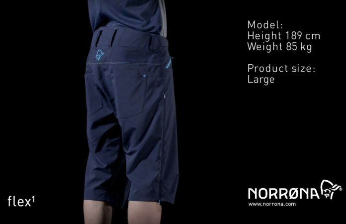 Norrona fjora lightweight mountainbike shorts blue