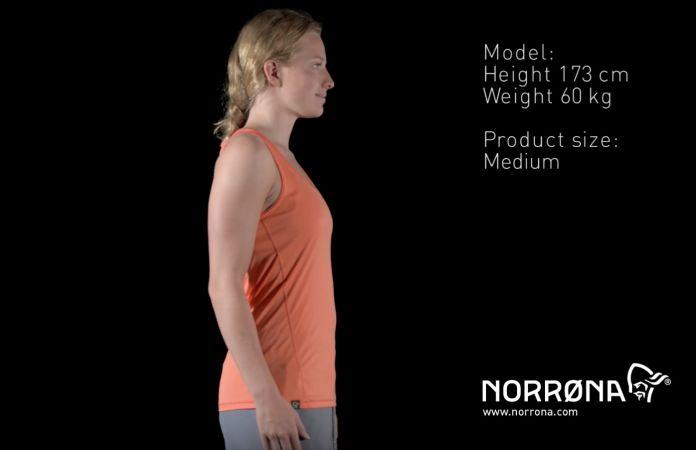 Norrøna /29 tech singlet til dame
