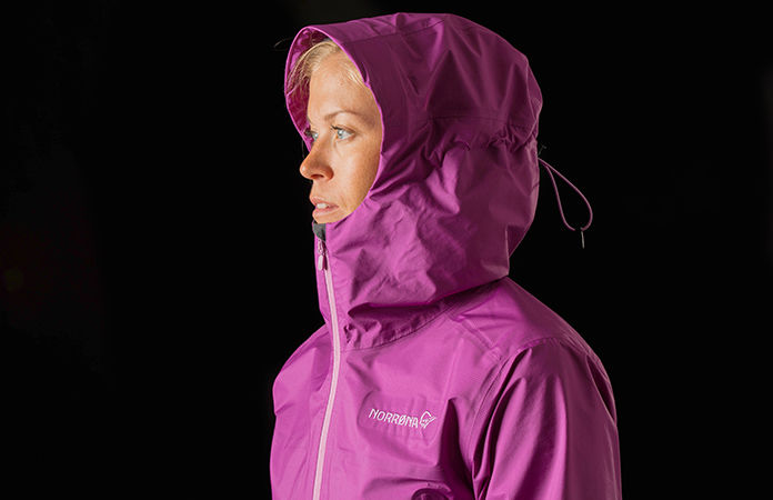 Norrøna bitihorn dri3 jacket women - purple