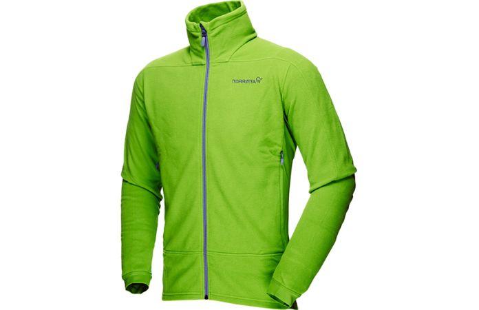 Norrona falketind warm1 jacket with polartec stretch fleece for men