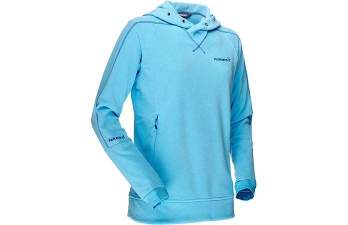 Norrøna hettegenser til dame - Falketind warm1 fleece genser