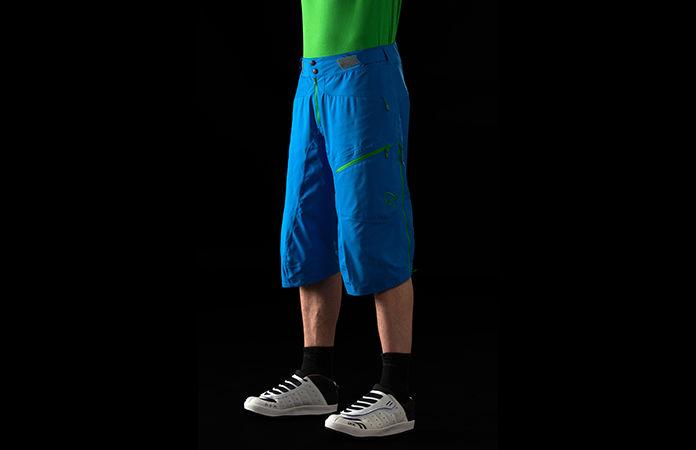 Norrøna fjørå dri3 vanntett shorts for stisykling til herre
