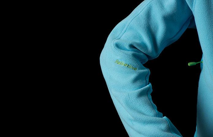 falketind fleece detail sleeve junior by Norrona