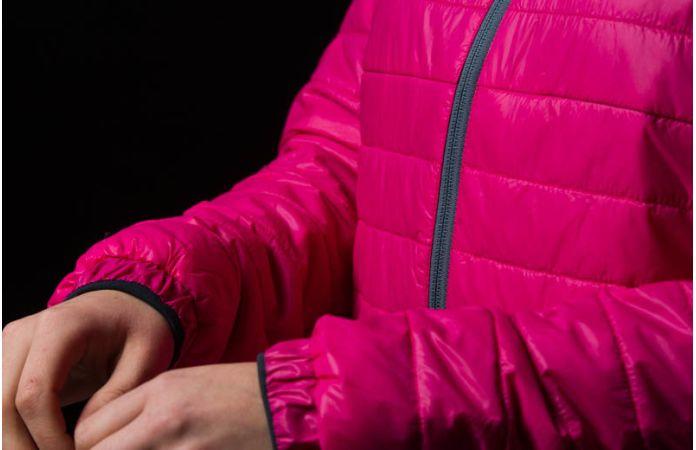 Norrøna falketind primaloft60 jakke til dame i rosa