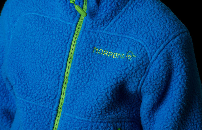 Norrona kids fleece - Trollveggen warm2 jacket