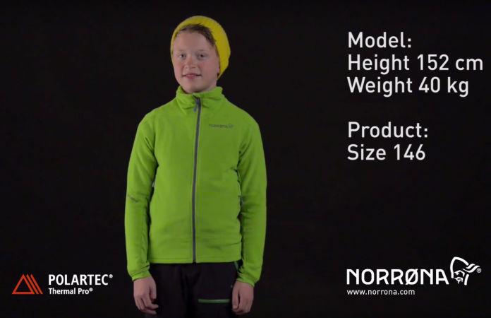 Norrona warm1 jacket kids