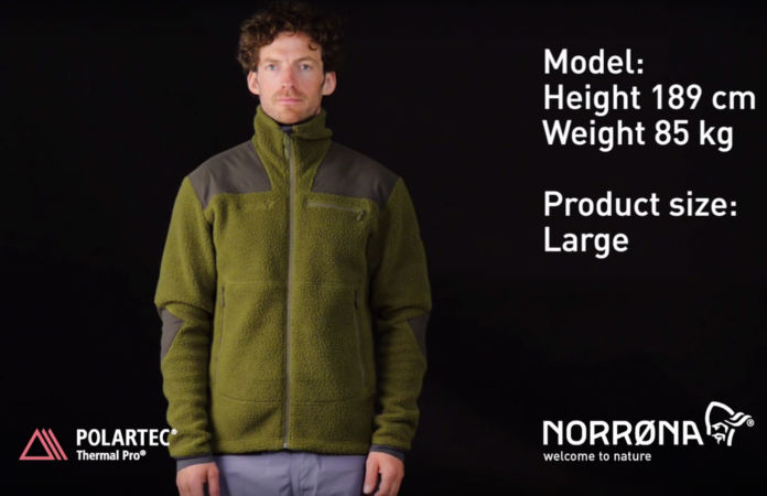 Norrona silent hunting finnskogen fleece jacket Polartec