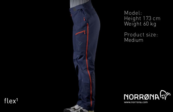Norrøna fjørå soft shell pants womens for mountain biking
