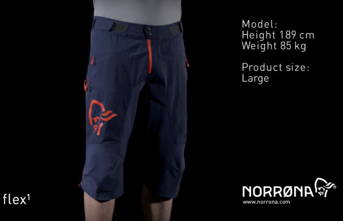 norrøna fjørå soft shell shorts for men