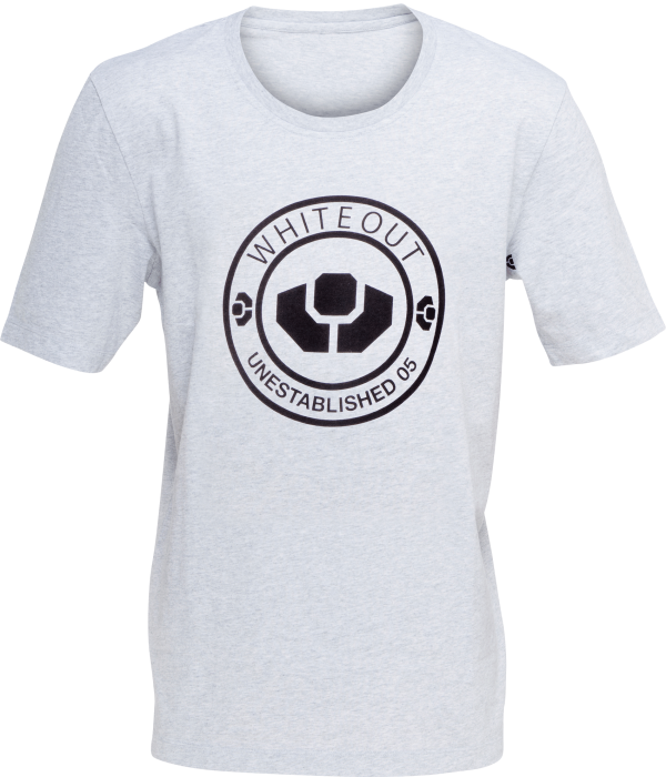 Product image of whiteout limited edition cotton T-shirt (M)