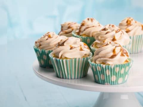 HaPå-muffins har karamell både inni og utenpå. Mmm, så godt.