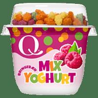 Q Barneyoghurt med bringebær er ekte matglede