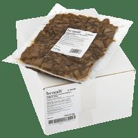 Bild på Beanit Vegostrimlor med Bondböna Vitlök och örter i sin förpackning
