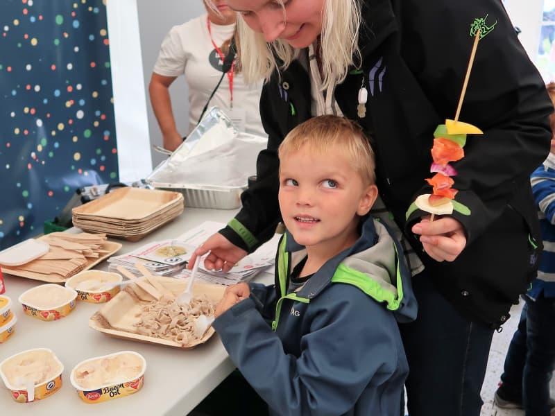 Barnas Matfestival 2018 - deltakere