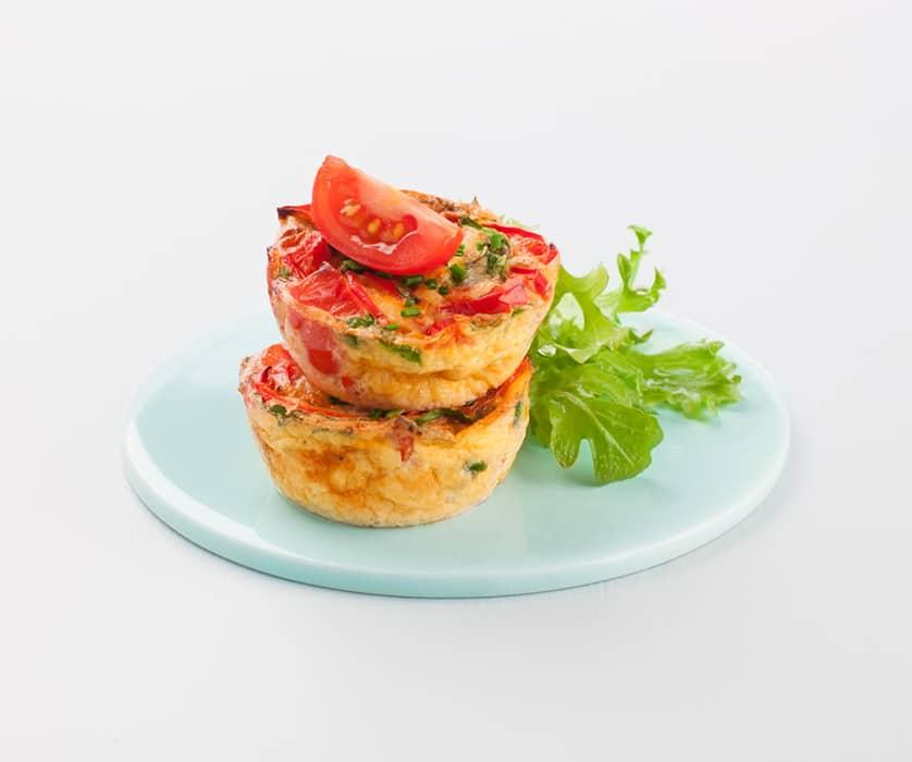 Frittata med Kavli MagerOst Skinke er en superfrokost med egg