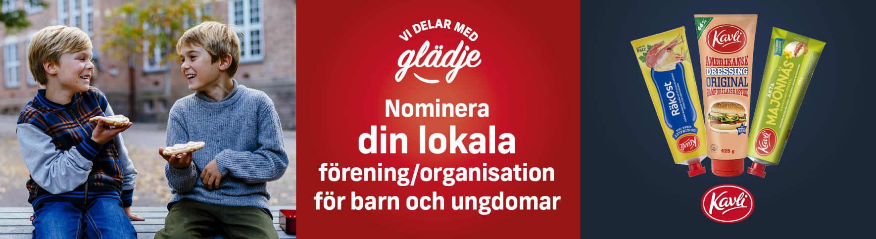 Nominera din förening/organisation