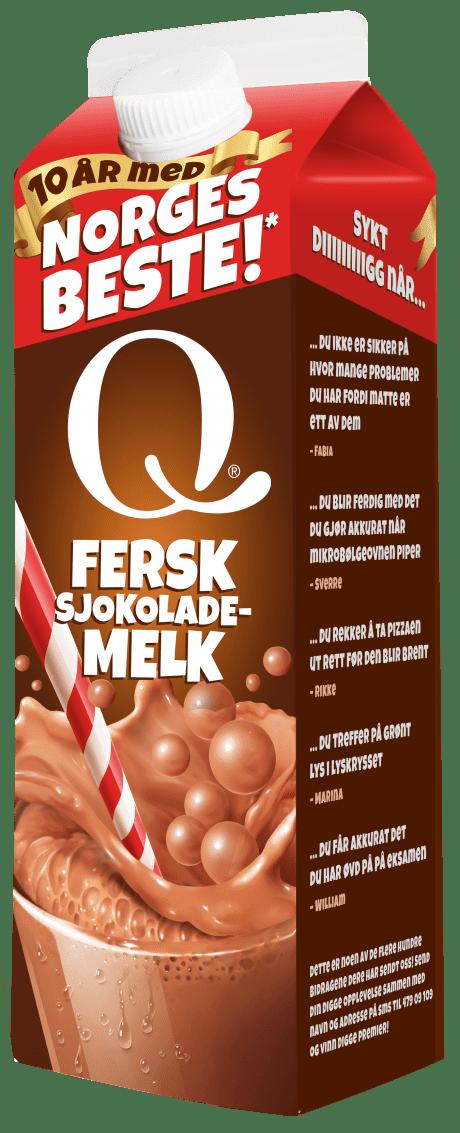 Q Fersk sjokolademelk
