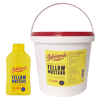 Johnny's Yellow mustard