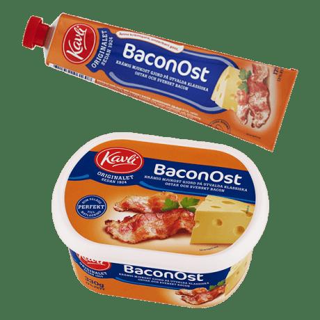 Kavli Baconost två förpackningar