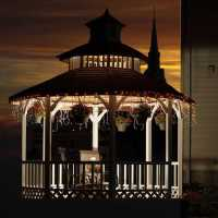the gazebo at Franklin Street Inn bed and breakfast downtown appleton wisconsin