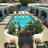 relax  -POSH Palm Springs Inn boutique bed & breakfast
