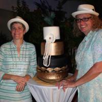 Wedding Cake and Brides