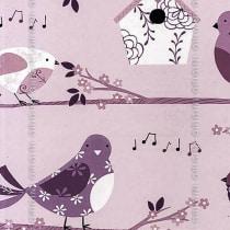 Papel de parede Decoração Infantil Pássaros Origini 139-34