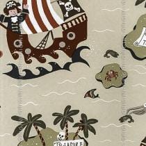 Papel de parede Decoração Infantil Piratas Origini 139-27