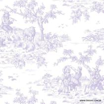 Papel de parede Decoração Toile de Jouy Origini 26-88
