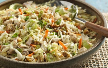 Chinese Chicken Coleslaw