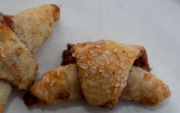 Cottage Cheese Rugelach with Walnuts