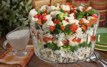 Layered Southwest Pasta Salad