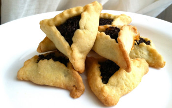 Poppy-Pecan-Honey Hamantaschen