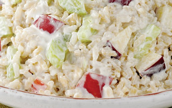 Chicken Rice Waldorf Salad