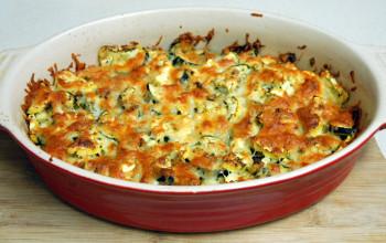 4-Cheese Zucchini Bake
