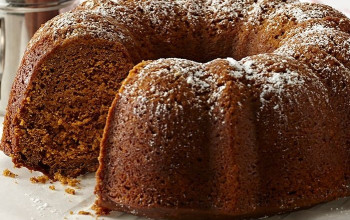 Low-Fat Low-Sugar Gingerbread Cake