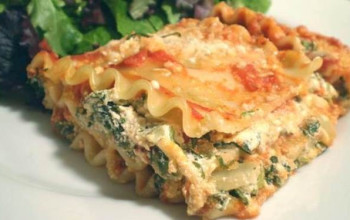 Low-Fat Spinach Lasagna (with Exchanges)
