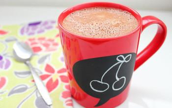 Cherry Cordial Hot Chocolate
