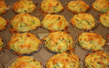 Passover Vegetable Muffins