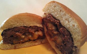 Mushroom-Stuffed Burgers