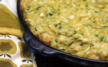 Corn and Zucchini Souffle