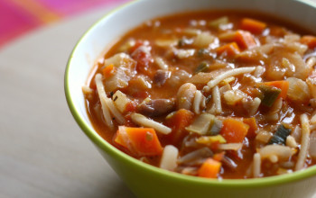 Simple Beef Minestrone