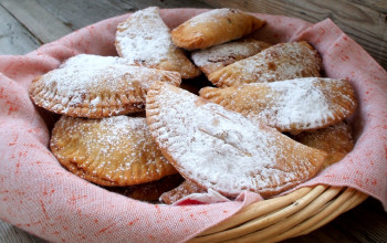 Apple and Cranberry Honey Fried Pies